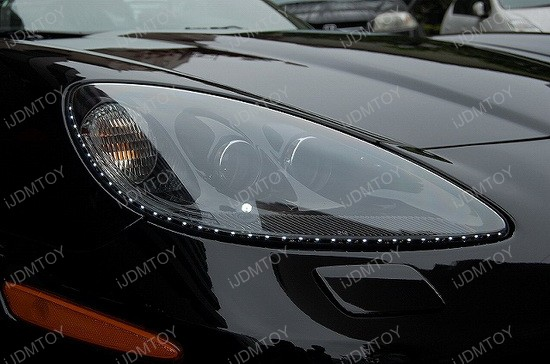 Audi - style - side - shine - flexible - LED - strip - lights - 5